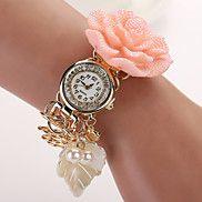 2015 Quartz Watch Women Watches  Pearl Flower W... – USD $ 14.99