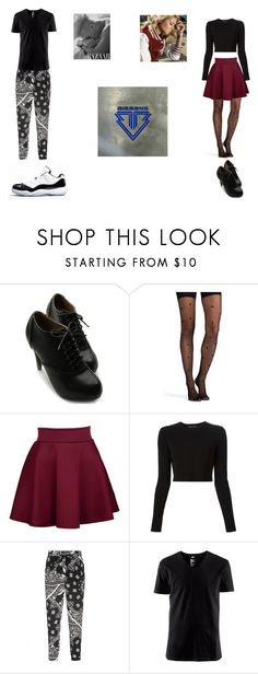 """Bad Boy; Good Girl"" by kaylawaugh ❤ liked on Polyvore featuring Ollio, SPANX, Proenza Schouler, TIBI, H&M and Concord"