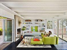 Mid-century modern home renovation in Berkeley Hills