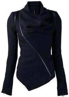 Isabel Benenato leather trim jacket on shopstyle.com