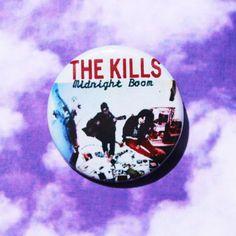 The Kills 1 1/4 Inch Pinback Button