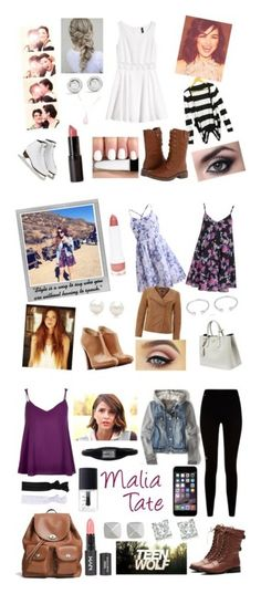 """Teen Wolf Look Book"" by tangerine-blossom ❤ liked on Polyvore featuring Polaroid, River Island, Givenchy, American Eagle Outfitters, Coach, NARS Cosmetics, Glam Bands, Vince Camuto, Deuce Brand and Mark Broumand"