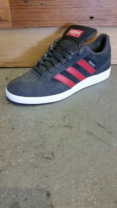 separation shoes 0f6be 30e71 Adidas Busenitz Pro shoes solid grey   nomad red   white Accesorios De Moda  Masculina,