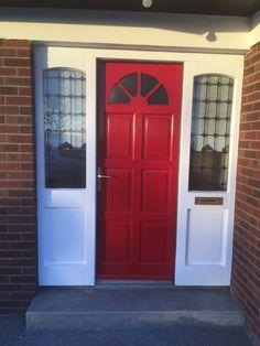 Front Door Colors, Garage Doors, Outdoor Decor, Home Decor, Decoration Home, Room Decor, Home Interior Design, Front Door Colours, Carriage Doors