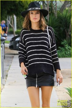 Alessandra Ambrosio & Candice Swanepoel Indulge in Some Retail Therapy
