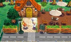 Animal Crossing Happy Home Designer Tierquerung Happy Home Designer # The post Tierquerung Happy Home Designer # appeared first on Rose Dickson. Animal Room, Animal Crossing Pocket Camp, Animal Crossing Qr, Exterior Design, Interior And Exterior, Sims 4, Ac New Leaf, Happy Home Designer, Cute Cafe