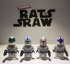 Lego Star Wars minifigures - CloneTrooper Custom FEBRUARY SPECIAL