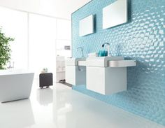 Porcelanosa USA - Zaphire :: With its irregular hexagonal shape and slight convexity, the Zaphire tile collection creates a surface very 21st century while still a bit archaic, even reptilian.