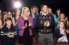 A family enjoying Neptune Theatre - Timothy Richard