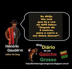 Diário de um Gaúcho Grosso: MOTORISTA GAÚCHO