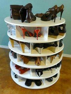 Rotative Shoes #Storage
