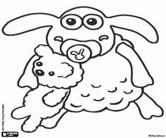 Shaun the Sheep coloring pages printable games