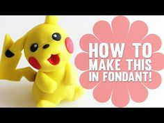 How to make Pikachu - Pokemon Cake Decorating Tutorial - YouTube