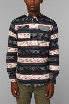 Staple Hughes Button-Down Shirt #urbanoutfitters