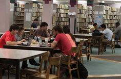 We have many spaces for studying on your own and in groups. Come hang out with us! #ClubMitchell #GrindTime