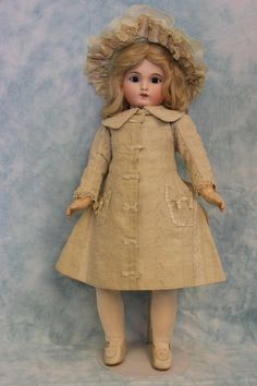 20 inch Antique French Joanny Doll Mark J2 Fine Clothes 8 Ball Joint Body Ca1880   eBay
