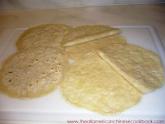 Homemade Mu Shu Pancakes | The All-American Chinese Cookbook -  These turned out great. I did cook them a little longer then the 1 min recommended. They are easier to separate if they are cooked for the additional time.