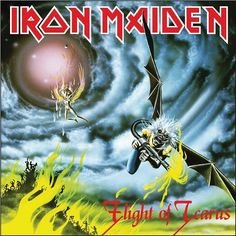 Iron Maiden - Flight of Icarus on Limited Edition 7""