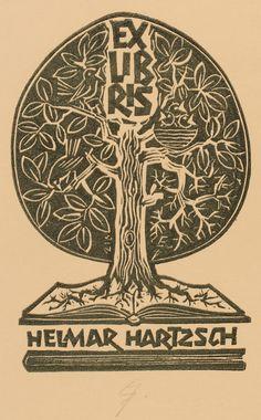 Erhard Zierold | #exlibris #bookplate