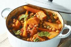 Winter root vegetable tagine