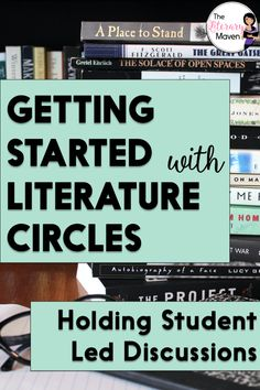This structure for literature circle discussions is perfect if students are new to lit circles or if you want students to run their own discussions. Grouping Students, English Language, Language Arts, English Lesson Plans, Middle School English, Literature Circles, English Classroom, Posts, Club