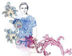 Montse Bernal | Illustrator | Central Illustration Agency #decorative #detail #pattern #illustration