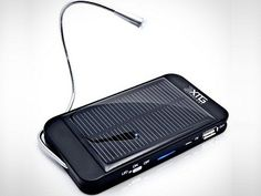 Solar Powered Backup Batter and Charger for Portable Devices - $28