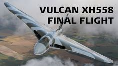After a tense wait for the weather to clear Vulcan made its final flight at Robin Hood Airport Doncaster Sheffield on October This recording. Avro Vulcan, Civil Air Patrol, Smile Because, Military Aircraft, Finals, Fighter Jets, Aviation, Photo And Video, World