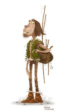 SHANE PRIGMORE: the CROODS post 06 (the guy before Guy)