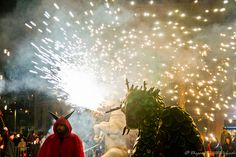 Diables del Poble Sec V Barcelona, Halloween, Concert, The Witcher, The Beast, Devil, Recital, Barcelona Spain, Festivals