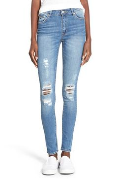 RES Denim 'Kitty' Skinny Jeans (1977 Vintage) available at #Nordstrom