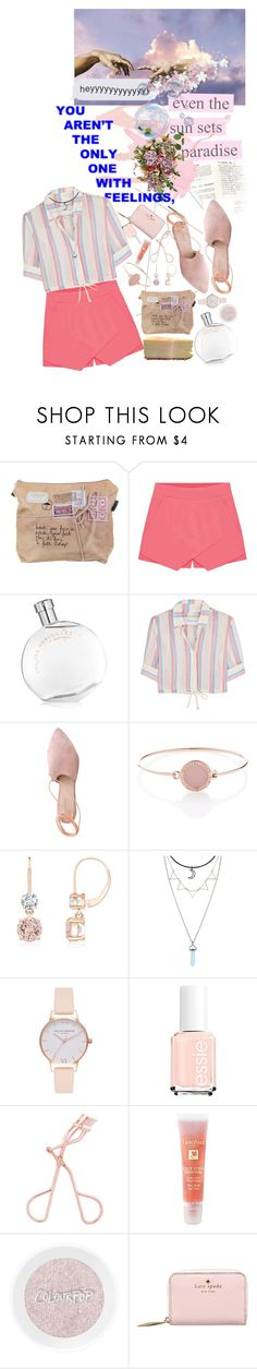 """""""Even The Sun"""" by lady-wednesday ❤ liked on Polyvore featuring Justin Bieber, Hermès, Solid & Striped, Summit, Michael Kors, Hot Topic, Olivia Burton, Lancôme and Kate Spade"""