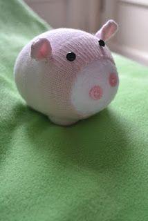 petit cochon chausette