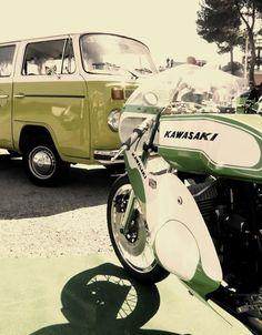 Kawasaki.....JK! Forget the bike!! VW bus