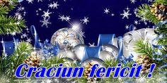 Felicitari de Craciun - Craciun fericit! - mesajeurarifelicitari.com Christmas Bulbs, Holiday Decor, Christmas Light Bulbs