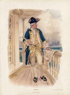 Artists Harbour Ltd. Admiral 18th century
