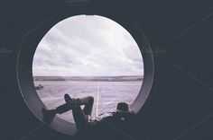 The lonesome traveller  by BrightSpace on Creative Market