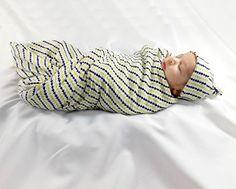 Organic baby set baby hat and blanket boho by swaddlemesnugly