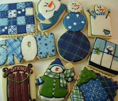 winter snow, snowman party, winter cooki, sugar cooki, christma cooki, holiday cookies, cooki art, baking, snowman cookies