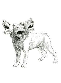 9 Meilleures Images Du Tableau Chien Monsters Mythological