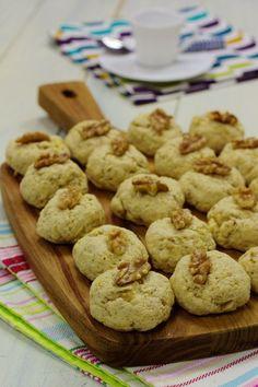 Cinco Quartos de Laranja: Biscoitos de noz