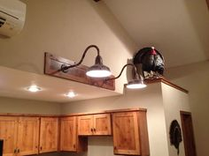Masculine touches, man cave lights