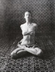 Dorian Leigh, Yoga, New York, 1946 by Irving Penn