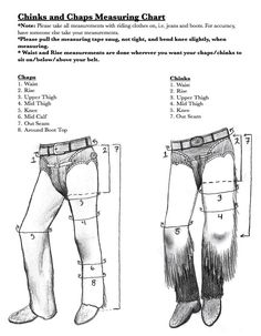 If you are looking to order a pair of our custom chinks, please browse through this selection of our past-made examples for inspiration. We never make two pairs exactly the same. There must be some change to make them uniquely … Continue reading → Western Style, Western Chinks, Westerns, Ranch Riding, Western Show Clothes, Western Dresses, Leather Working Patterns, Cowboy Gear, Cowgirl Tuff