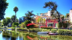 """Built in 1905 by developer Abbot Kinney as part of his """"Venice of America"""" plan, the Venice Canal Historic District"""