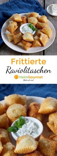 Schmelzender Käse in knuspriger Ravioli-Hülle? Das ist genau nach unserem Geschmack!