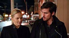 Colin O'Donoghue - Killian Jones -Captain Hook - Jennifer Morrison - Emma Swan - Once Upon A Time S5