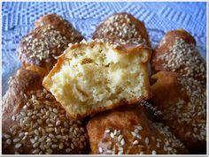 Κασεροπιτάκια maffins Food For Thought, Kai, French Toast, Muffins, Food Ideas, Cupcakes, Breakfast, Morning Coffee, Muffin