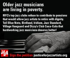 support older jazz musicians