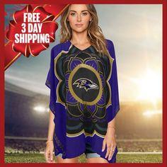 Limited Edition, Licensed Baltimore Ravens Caftan